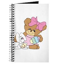 Teddy Bear and Easter Bunny Journal