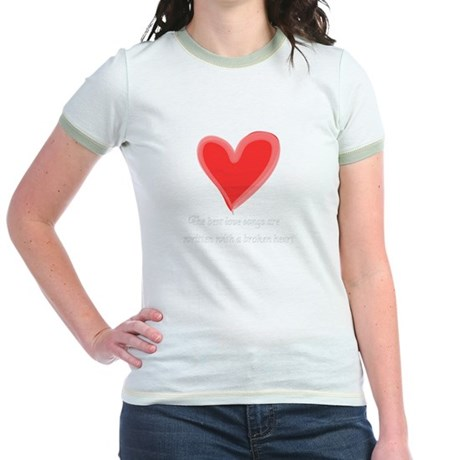 """The Best Love Songs"" t-shirt"