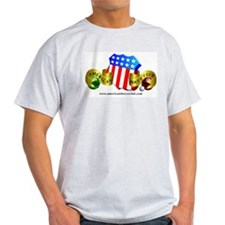 Official American Bocce Club T-Shirt (ash)