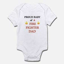 fire fighters Infant Bodysuit