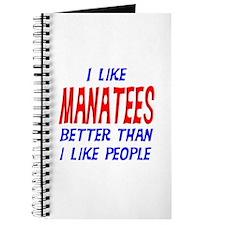 I Like Manatees Journal