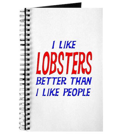 I Like Lobsters Journal