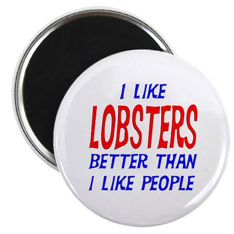 "I Like Lobsters 2.25"" Magnet (100 pack)"