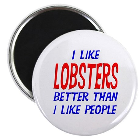 I Like Lobsters Magnet