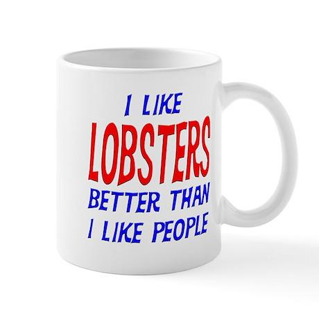 I Like Lobsters Mug