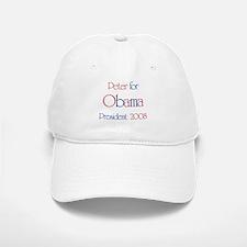 Peter for Obama 2008 Baseball Baseball Cap