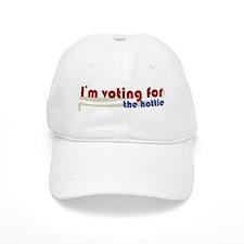 Voting 4 Hottie Baseball Cap