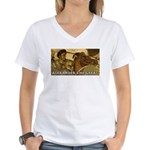 ALEXANDER THE GREAT Women's V-Neck T-Shirt