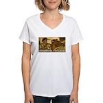 ALEXANDER THE GREAT Women's V-Neck T-Shirt