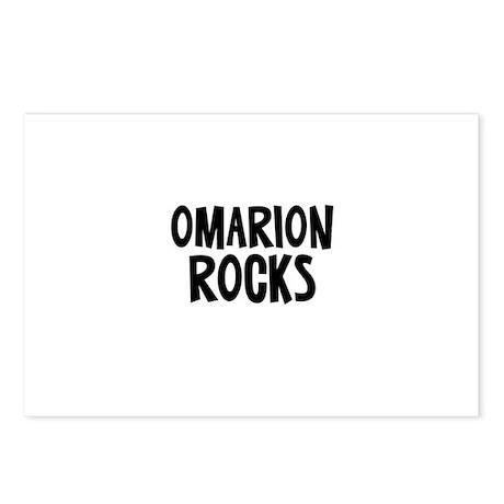 Omarion Rocks Postcards (Package of 8)