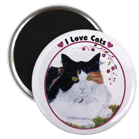 "I love cats 2.25"" Magnet (10 pack)"