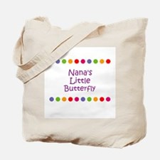 Nana's Little Butterfly Tote Bag