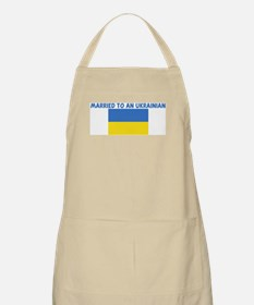 MARRIED TO AN UKRAINIAN BBQ Apron