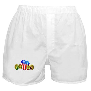 Official American Bocce Club Boxer Shorts