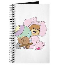 Easter Bunny Teddy Bear Journal