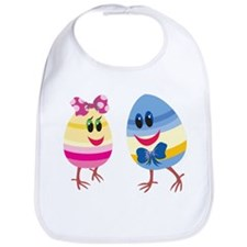 Easter Eggs Bib