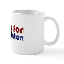 Voting Clinton Mug