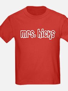 Mrs. Hicks T