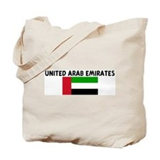 UNITED ARAB EMIRATES Tote Bag