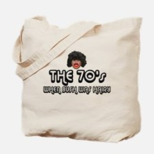 Hairy Bush 70's Tote Bag