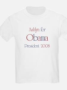 Ashlyn for Obama 2008 T-Shirt