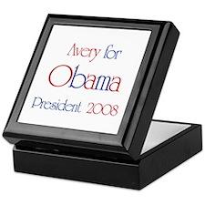 Avery for Obama 2008 Keepsake Box