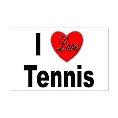 I Love Tennis Posters