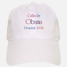 Caitlin for Obama 2008 Baseball Baseball Cap