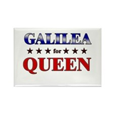 GALILEA for queen Rectangle Magnet