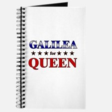 GALILEA for queen Journal