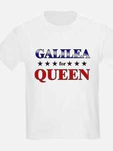 GALILEA for queen T-Shirt