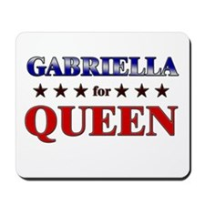 GABRIELLA for queen Mousepad