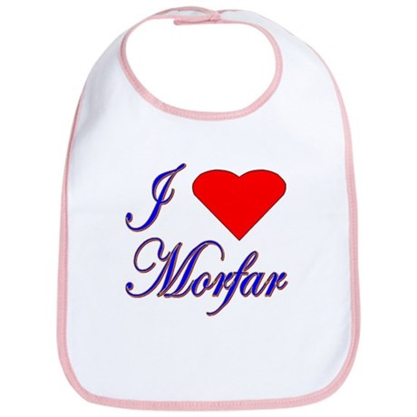 I Love Morfar Bib