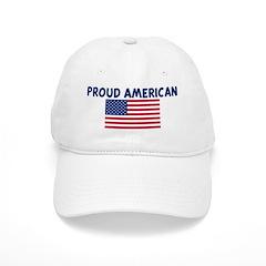 PROUD AMERICAN Baseball Cap
