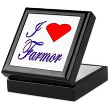 I Love Farmor Keepsake Box