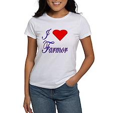 I Love Farmor Tee