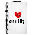 I Love Mountain Biking Journal