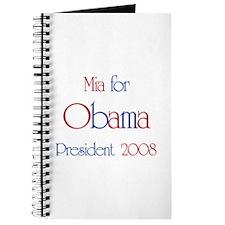 Mia for Obama 2008 Journal
