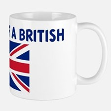 PROPERTY OF A BRITISH Mug