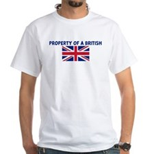 PROPERTY OF A BRITISH Shirt
