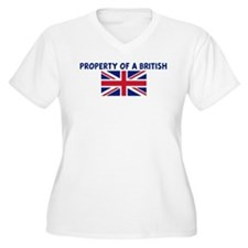 PROPERTY OF A BRITISH T-Shirt