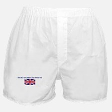 NOT ONLY AM I PERFECT BUT BRI Boxer Shorts
