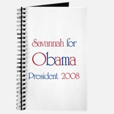 Savannah for Obama 2008 Journal