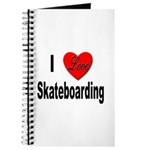 I Love Skateboarding Journal
