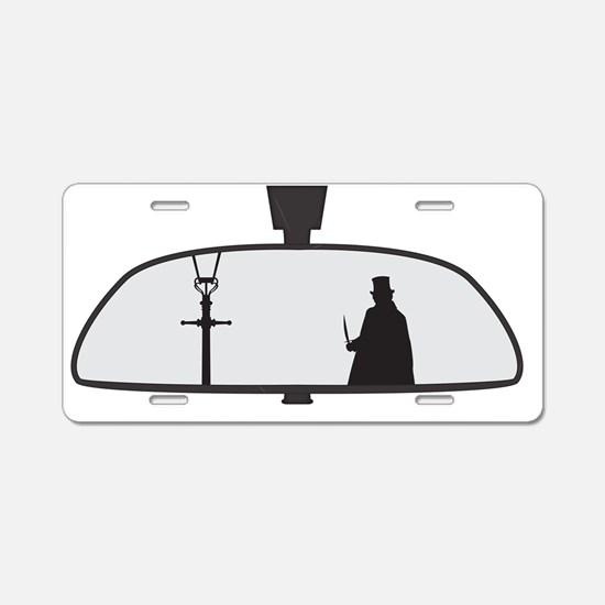 Jack The Ripper In Rear Vie Aluminum License Plate