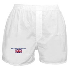 MADE IN AMERICA WITH BRITISH  Boxer Shorts