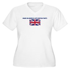 MADE IN AMERICA WITH BRITISH  T-Shirt