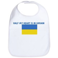 HALF MY HEART IS IN UKRAINE Bib
