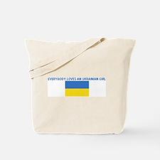 EVERYBODY LOVES AN UKRAINIAN  Tote Bag