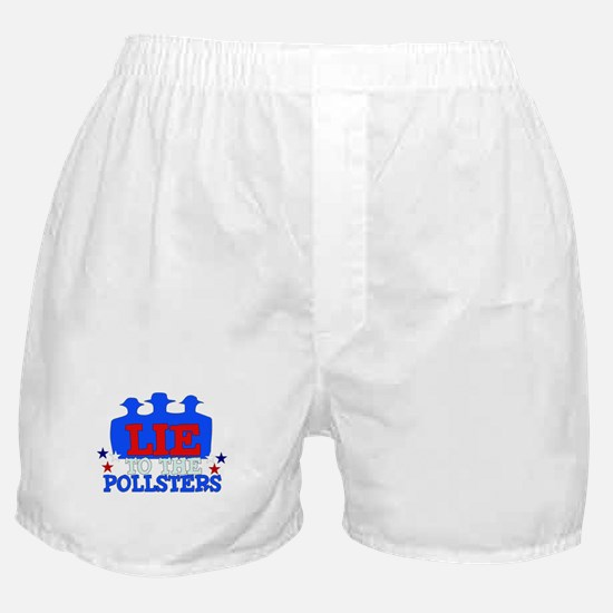Lie To Pollsters Boxer Shorts